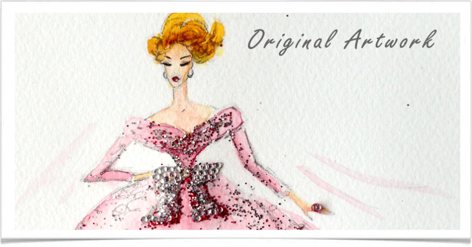 Fashion Illustration Original Artowork