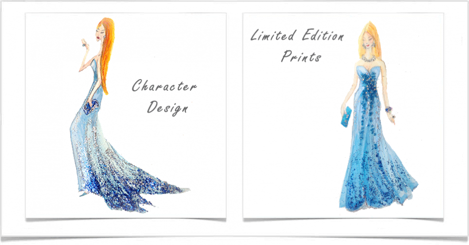 Fashion Illustration Prints