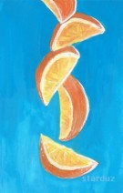 Illustration of Zesty Oranges